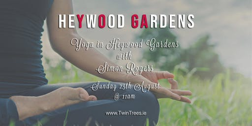 Yoga in Heywood Gardens with Simon Rogers