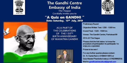 Quiz on Gandhi