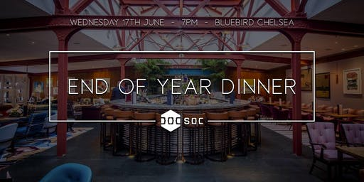 DoCSoc End Of Year Dinner 2019