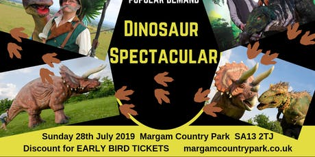Dinosaur Spectacular tickets