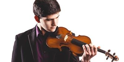 Cristian de Sa (viool) en Somi Kim (piano)