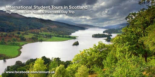 Loch Ness and Highlands Day Trip Sat 19 Oct