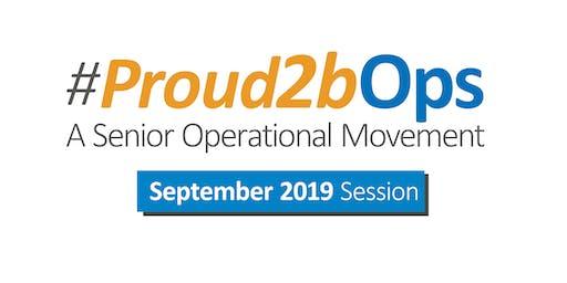Proud2bOps Session 27 September 2019