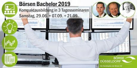 Börsen-Bachelor 2019 - Kompaktausbildung in 3 Tagesseminaren Tickets