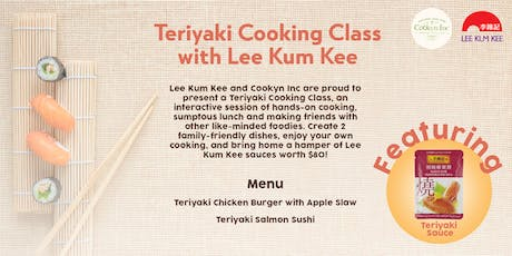Teriyaki Cooking Class with Lee Kum Kee tickets