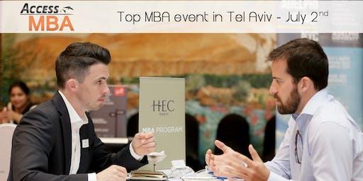Top mba event in Tel Aviv