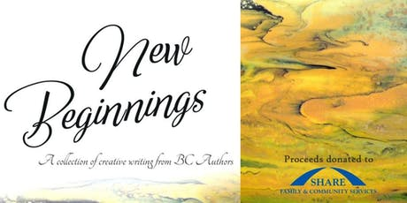 Launch Gala - Writers for SHARE - New Beginnings Anthology tickets