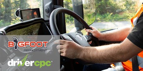 Bigfoot Driver CPC Training - Customer care and driver security tickets