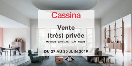 Ventes Privées Cassina VIP billets