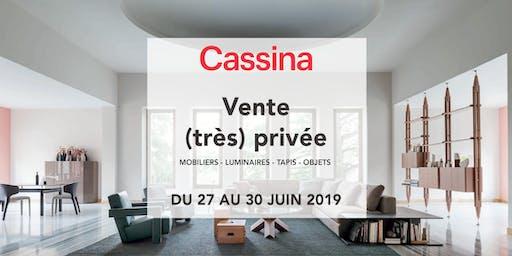 Ventes Privées Cassina VIP