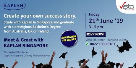 Study in Singapore with International University Degree - Jakarta Tj. Duren tickets