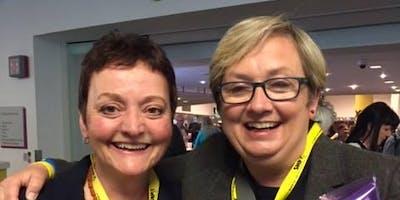 Joanna Cherry, QC, MP, Speaking in Peebles (Guest speaker Calum Kerr)