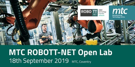 MTC ROBOTT-NET Open Lab tickets
