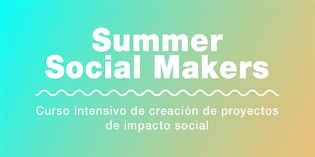 Curso intensivo de creación de proyectos de impacto social entradas