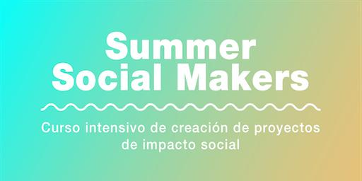 Curso intensivo de creación de proyectos de impacto social