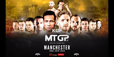 MTGP 27: Manchester (29th June) BEC ARENA - Live Muay Thai tickets