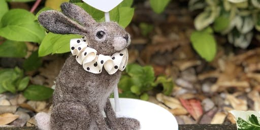 Needle Felt Hare