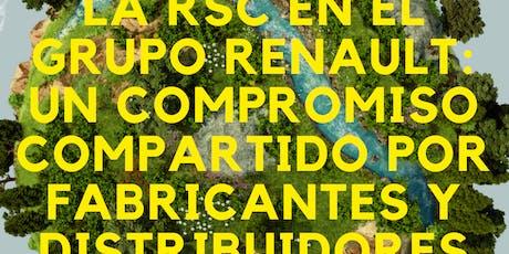 RSC en Grupo Renault: Compromiso compartido por fabricante y distribuidores tickets