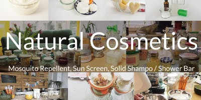 DIY Natural Cosmetics Workshop (travel eco safe)