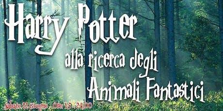 Harry Potter alla Ricerca degli Animali Fantastici biglietti