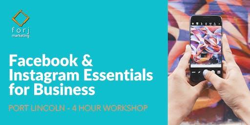 PORT LINCOLN Workshop: Facebook & Instagram Essentials for Business