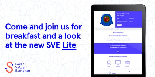 Social Value Exchange: soft launch of the new 'SVE Lite'