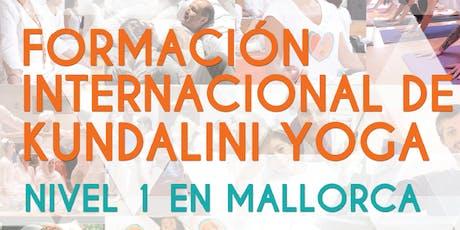 Formación de Profesores de N1 de Kundalini Yoga en Mallorca tickets
