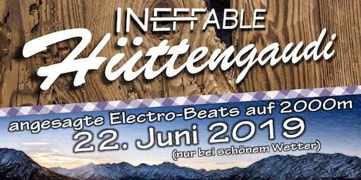 Ineffable Hüttengaudi - angesagte Electro-Beats auf 2000m