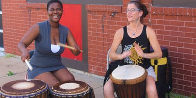 Women's African Drumming & Rhythm Experience
