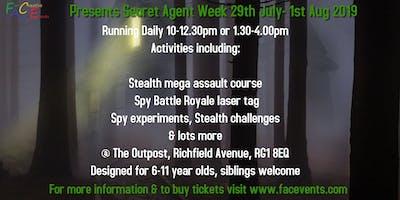 Family Summer Secret Agent Week Activities
