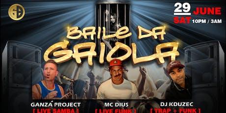 Baile da Gaiola Sydney / Funk / Trap / Samba tickets