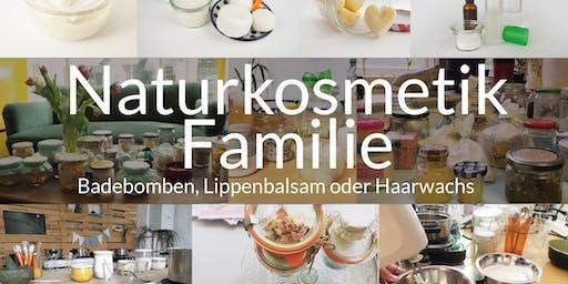 Ferien Workshop Naturkosmetik (für die ganze Familie)