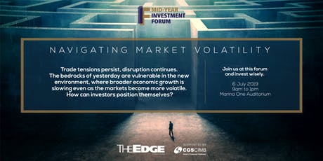 The Edge Singapore | Mid Year Investment Forum 2019 tickets