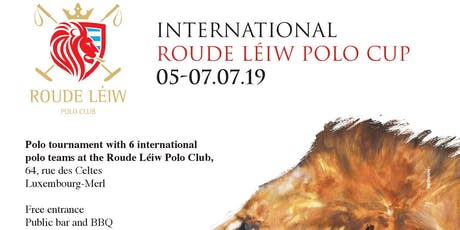 Roude Léiw Polo Cup 2019 tickets