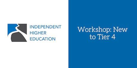 Workshop: New to Tier 4 tickets