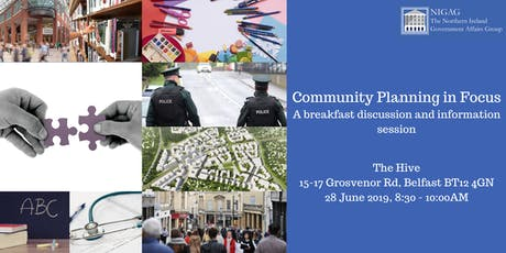 Community Planning Event tickets