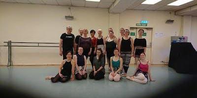 Powerhouse Ballet Company Class with Karen Sant and David Plumpton