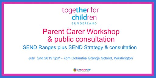 SEND Ranges workshop & consultation 2/7/19 5pm