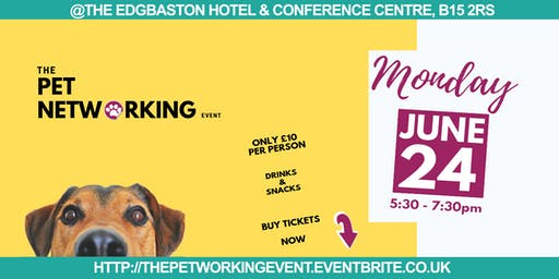 The Pet Networking Event