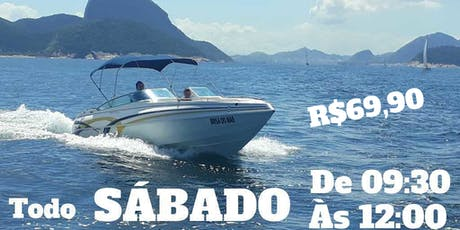 Passeio de Lancha (Speed Boat Ride) Sábado (Saturday) 09:30 ~ 12:00 ingressos