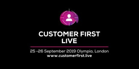 Customer First Live tickets