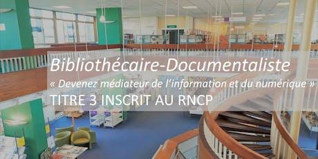 Les Rendez-Vous de l' EBD : Bibliothécaire-Documentaliste billets
