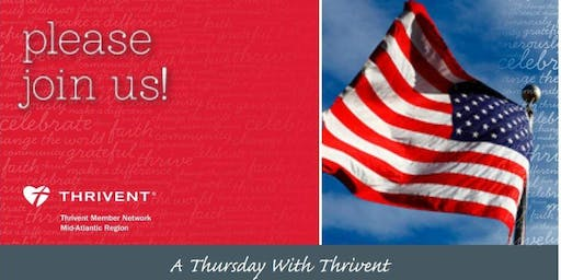 A Thursday With Thrivent : Do One Thing Different : Adamstown