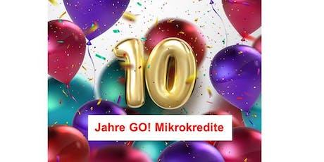 10 Jahre GO! Mikrokredite Tickets
