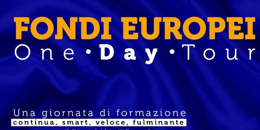 ROMA Fondi Europei - One Day Tour