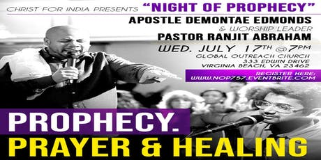 Night of Prophecy & Prayer tickets