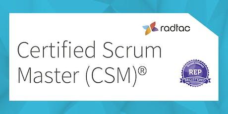 Certified ScrumMaster®  ingressos