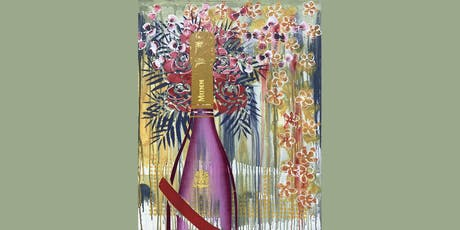 Mumm Champagne Paint and Sip Brisbane 5.7.19 tickets
