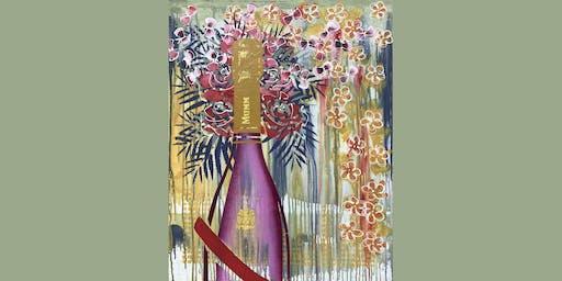 Mumm Champagne Paint and Sip Brisbane 5.7.19
