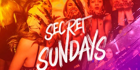 Secret Sunday's at Townhouse  tickets
